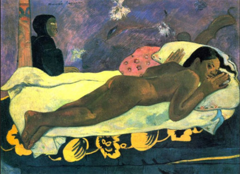 Early Modernists - Painting by Gauguin