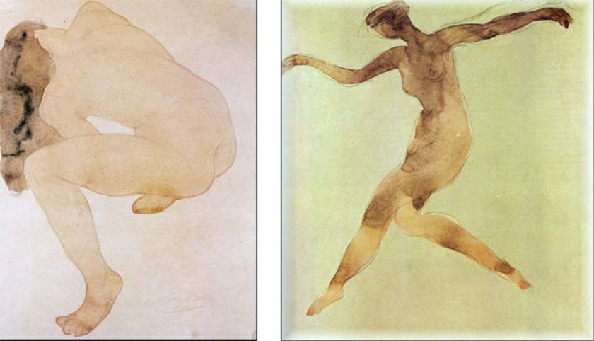 Rodin fast drawings for my books