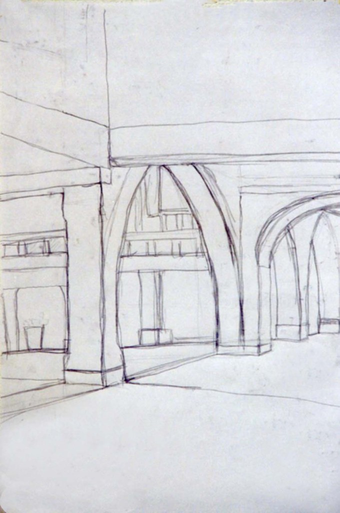 and edwards drawing of arcades