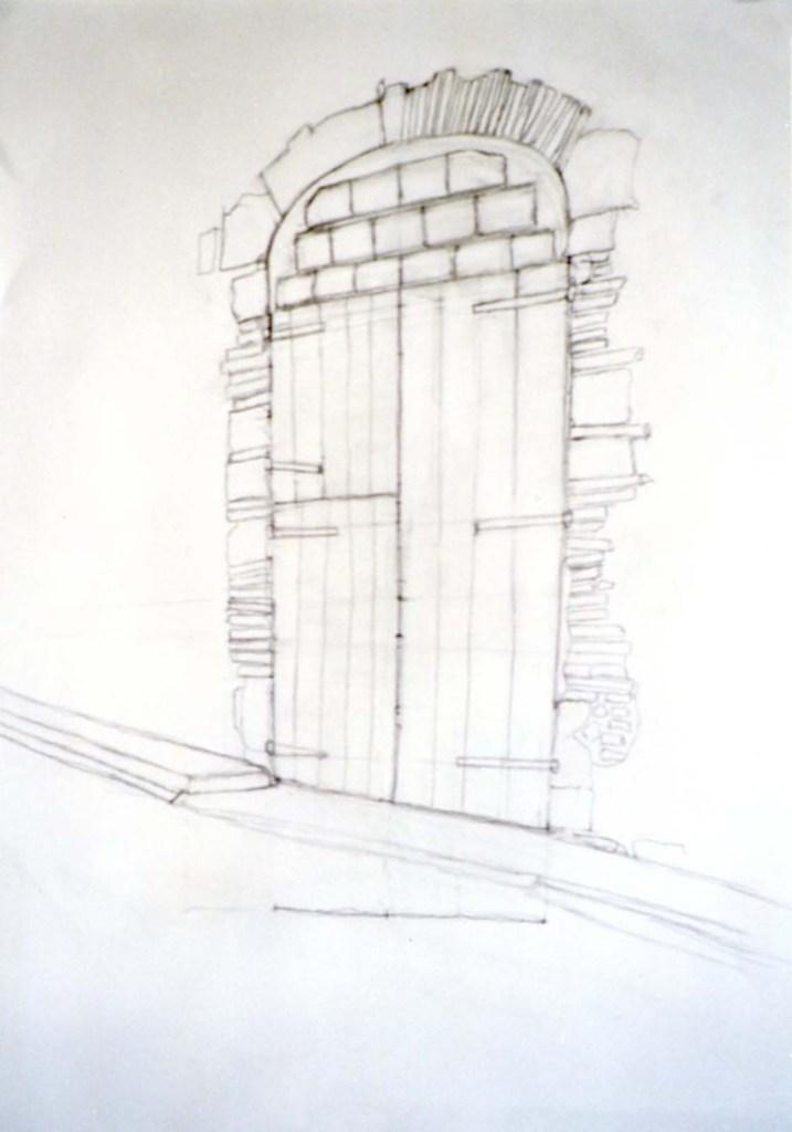 george hooper doorway drawing