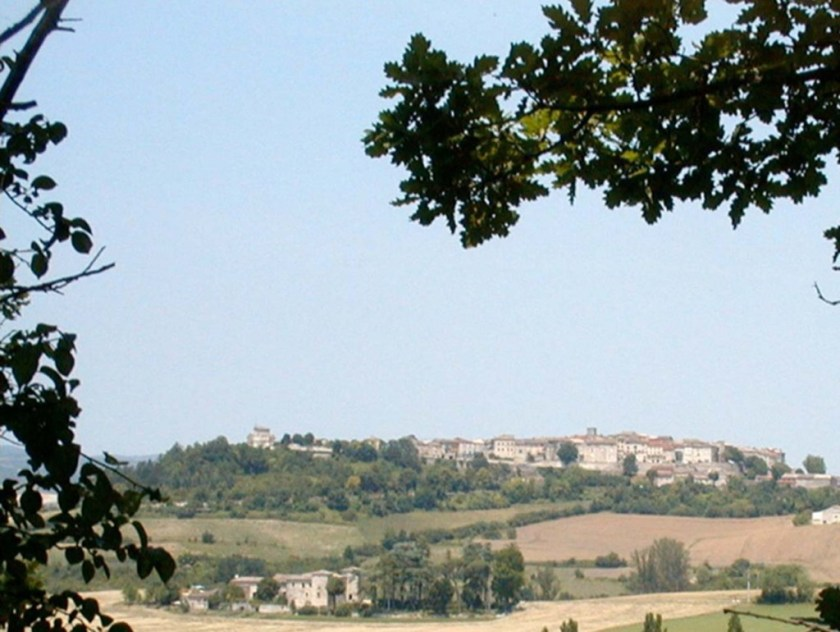 Montmiral from south
