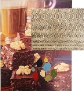 Nathan Ritterputch Brownies with Bridget Riley's Current and Abstract Shapes