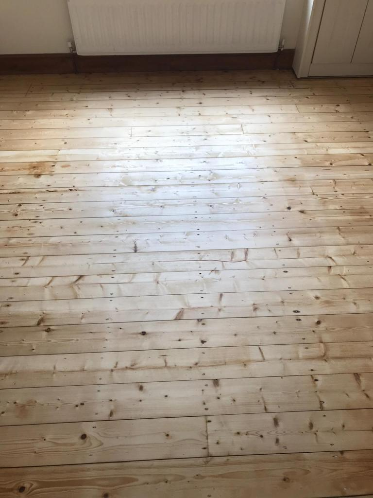 Floor Sanding from this week