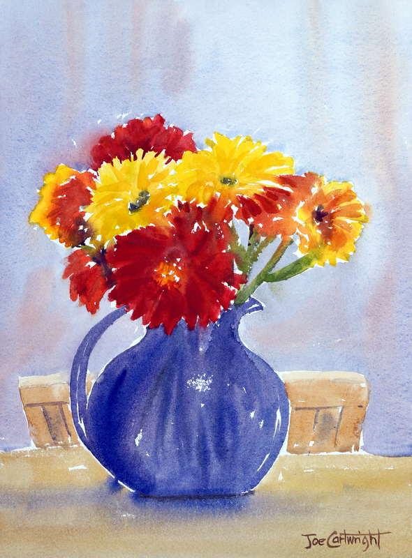 Watercolor Paintings Flowers Gallery.Watercolour flowers.