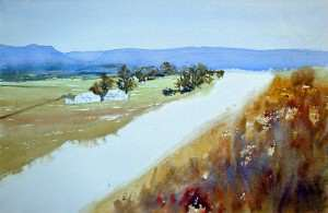 StepThree how to paint distant hills