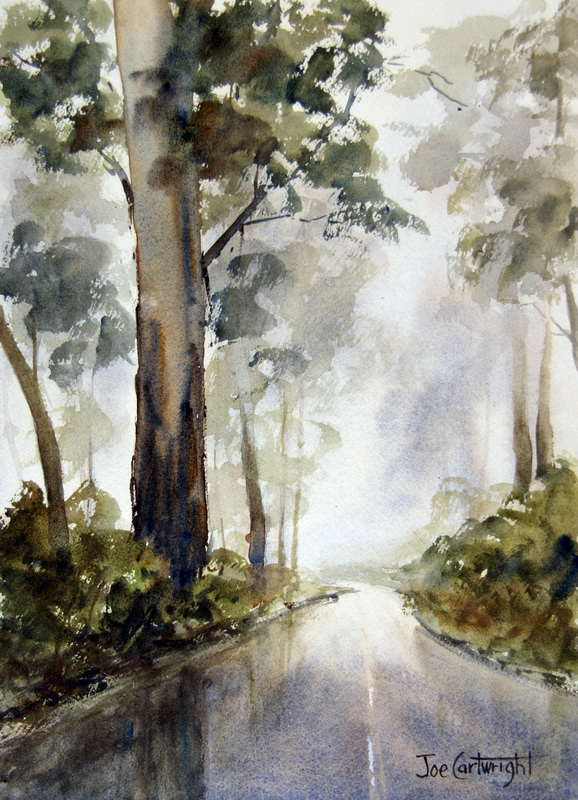 Simple Watercolor Paintings Landscapes