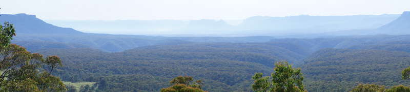 Capertee Valley from Pearsons Lookout