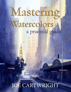 Mastering Watercolours by Joe Cartwright purchase from Amazon.com