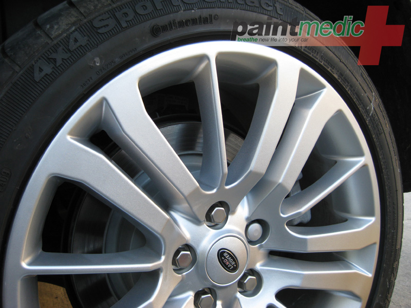 Alloy wheel damage after Paintmedic repair