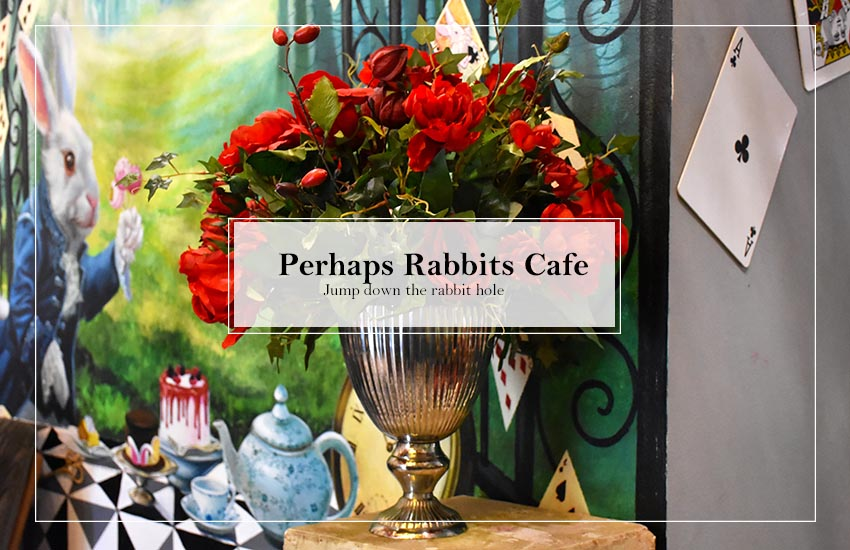 Perhaps Rabbits' Café Bangkok