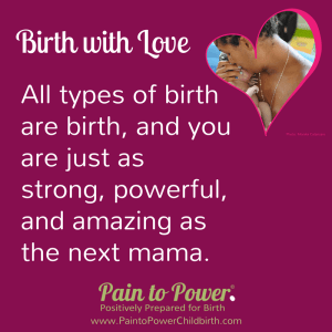 Online birthing classes