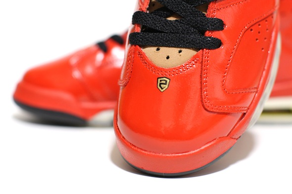porsche 911 air jordan vi c2 customs 5 Red Porsche 911 Custom Air Jordan VI Shoes by C2 Customs