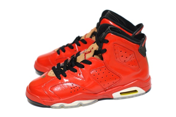 red porsche 911 air jordan vi c2 customs 1 Red Porsche 911 Custom Air Jordan VI Shoes by C2 Customs