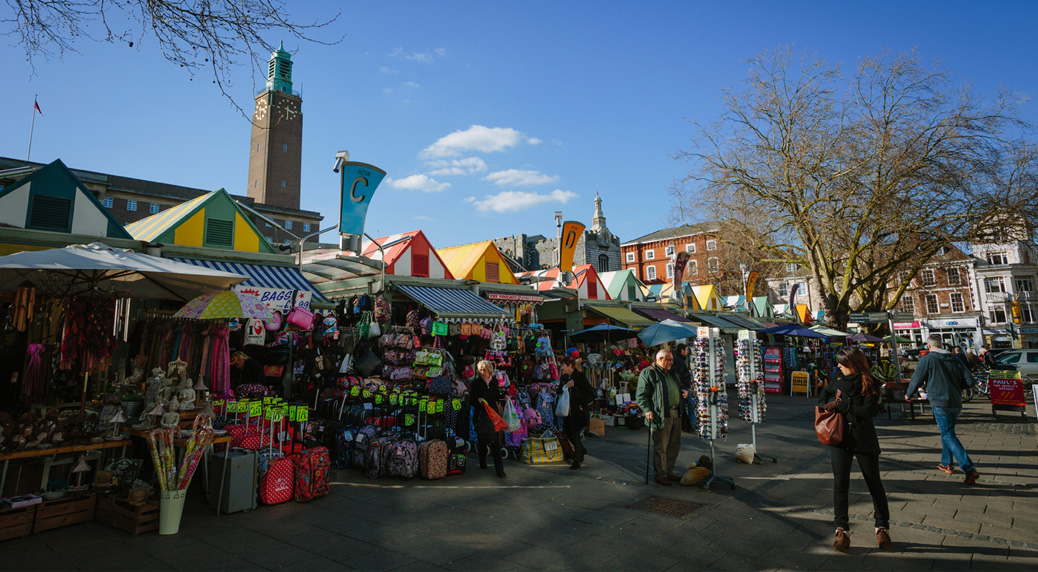 Norwich Market © Matt Dartford