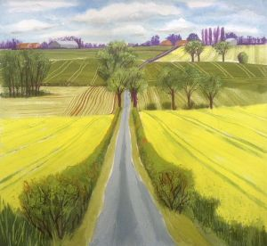 Litchmere Lane, Hales, Norfolk by Cornelia FitzRoy