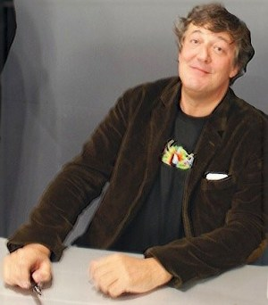 Stephen Fry book signing by vpjayant via flickr