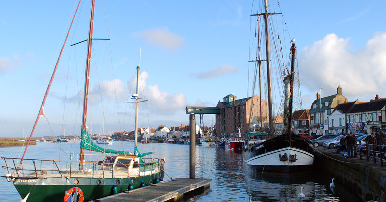 The Albatros at Well-next-the-Sea Quay, Norfolk