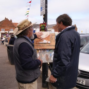Oil Painting Art Workshop at Paint Out Wells 2015 with Michael Richardson