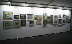 Paint Out Wells 2015 Art Exhibition, Buttlands, Norfolk