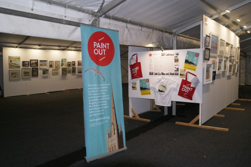 Paint Out Wells 2015 Art Exhibition