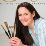 Rosemary and Co Artists Brushes