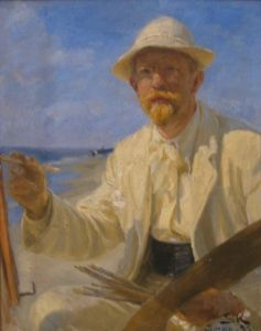 Peder Severin Krøyer, Self portrait, 1897
