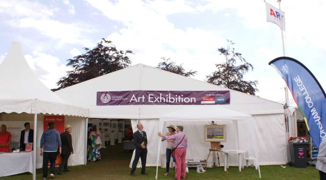 Royal Norfolk Show 2016 Art Exhibition