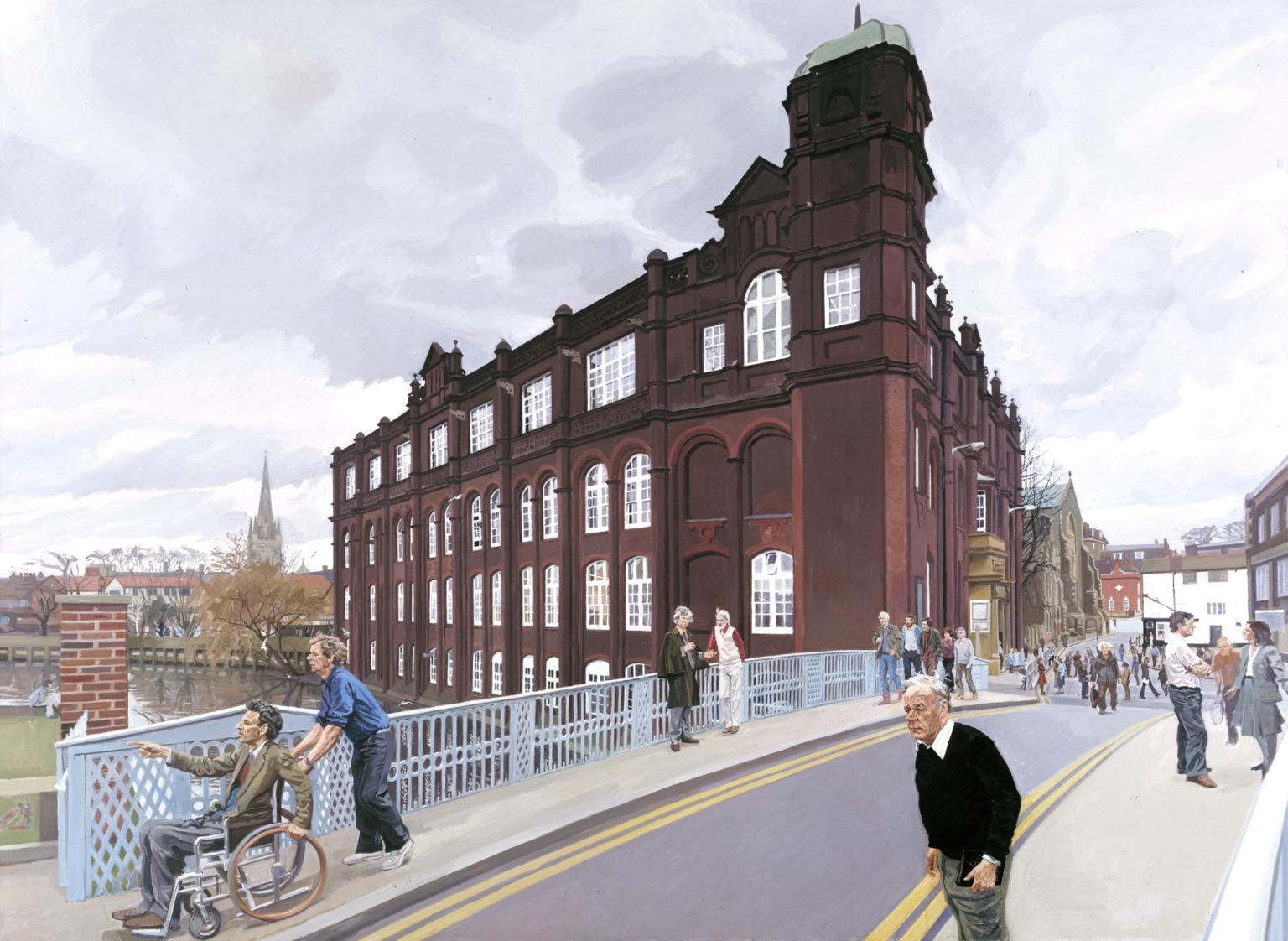 The Norwich School of Art 1982-4 by John Wonnacott