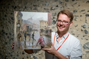 Paint Out Norwich Awards 2018 - Rob Pointon, First Prize. Photo credit ©Simon Finlay Photography.