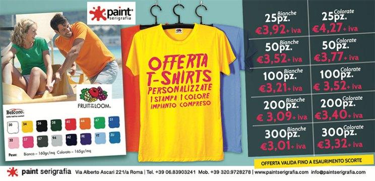 Serigrafia Roma Stampa digitale personalizzata t-shirts