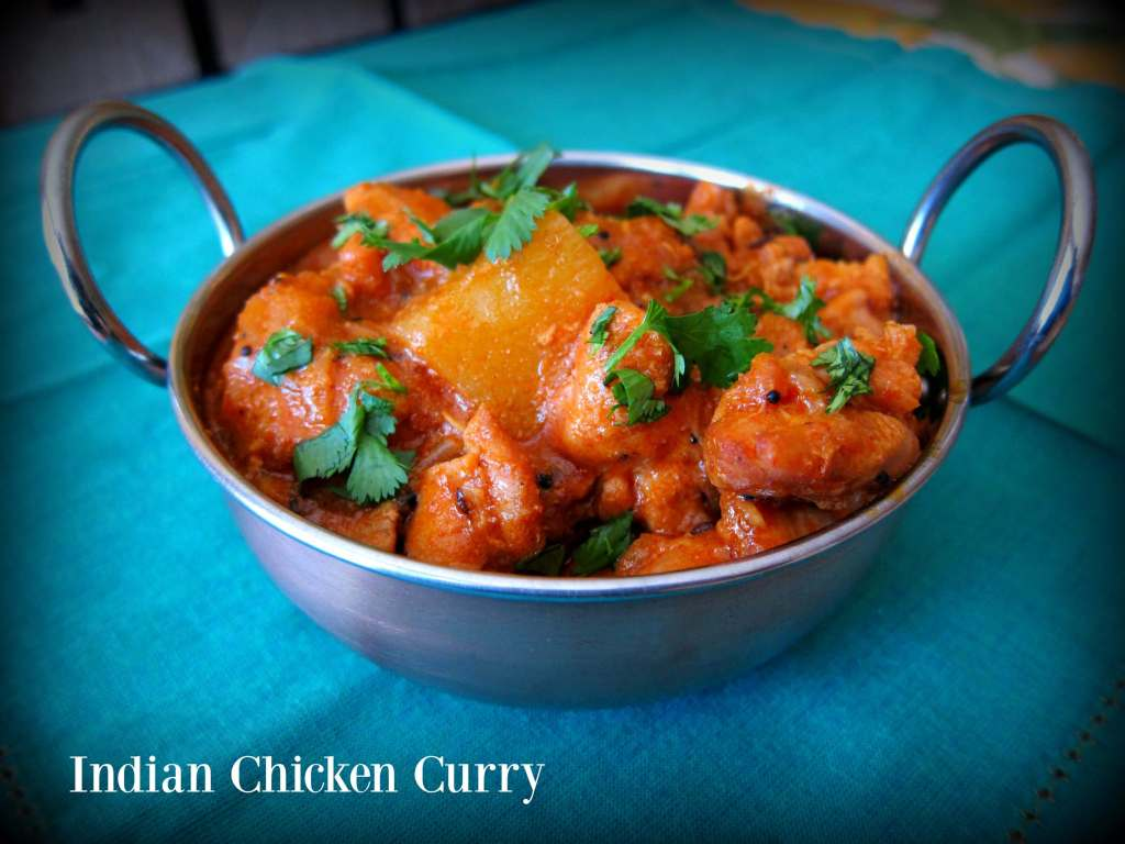 Indian Chicken Curry - Paint The Kitchen Red - photo#11