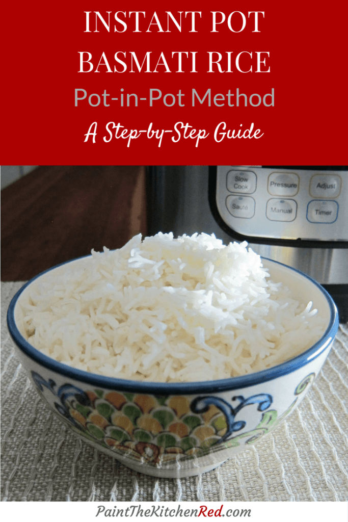 Instant Pot Rice Pot in Pot Method