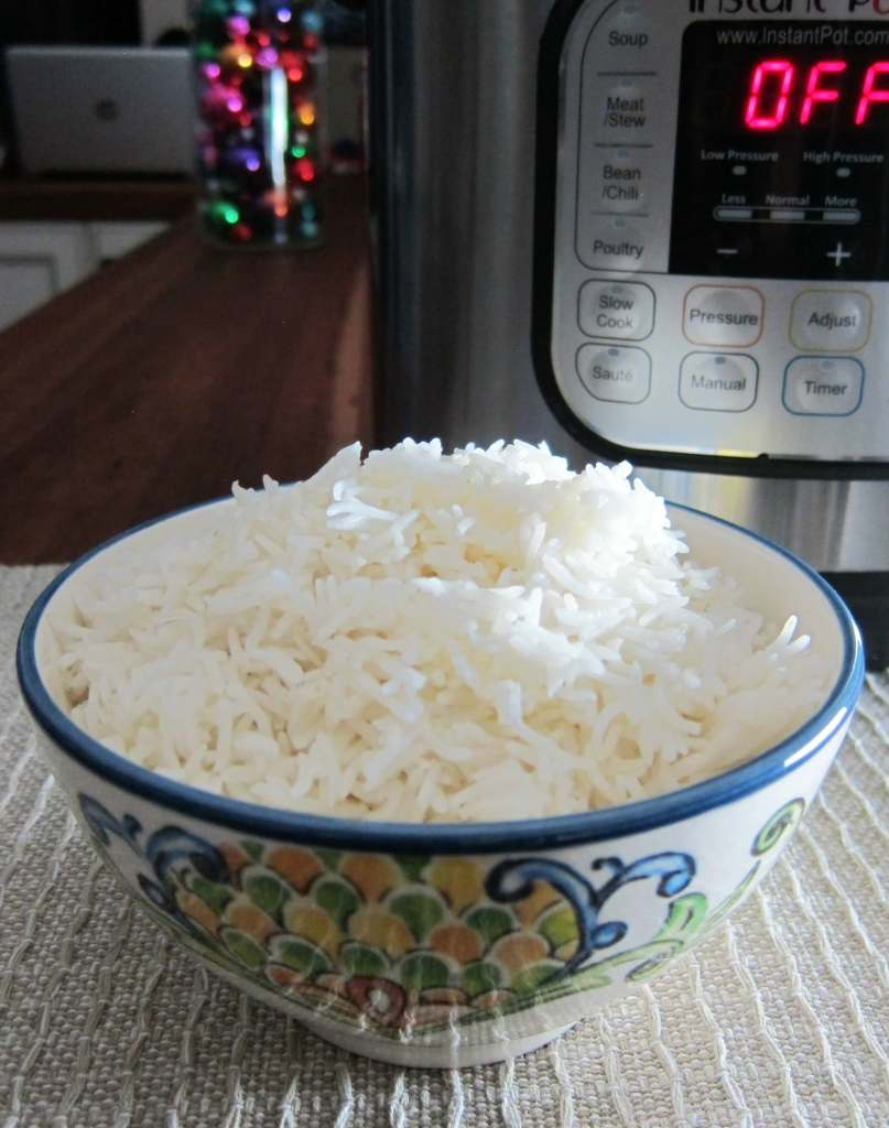 Instant Pot Rice Pot in Pot Method Portrait