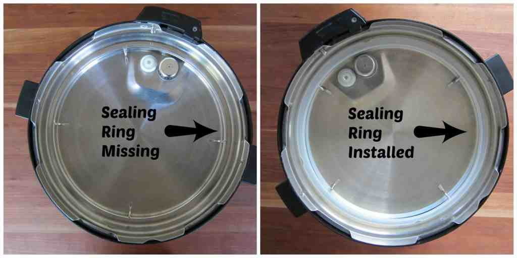 Sealing Ring Not Missing Instant Pot Not Sealing- Paint the Kitchen Red
