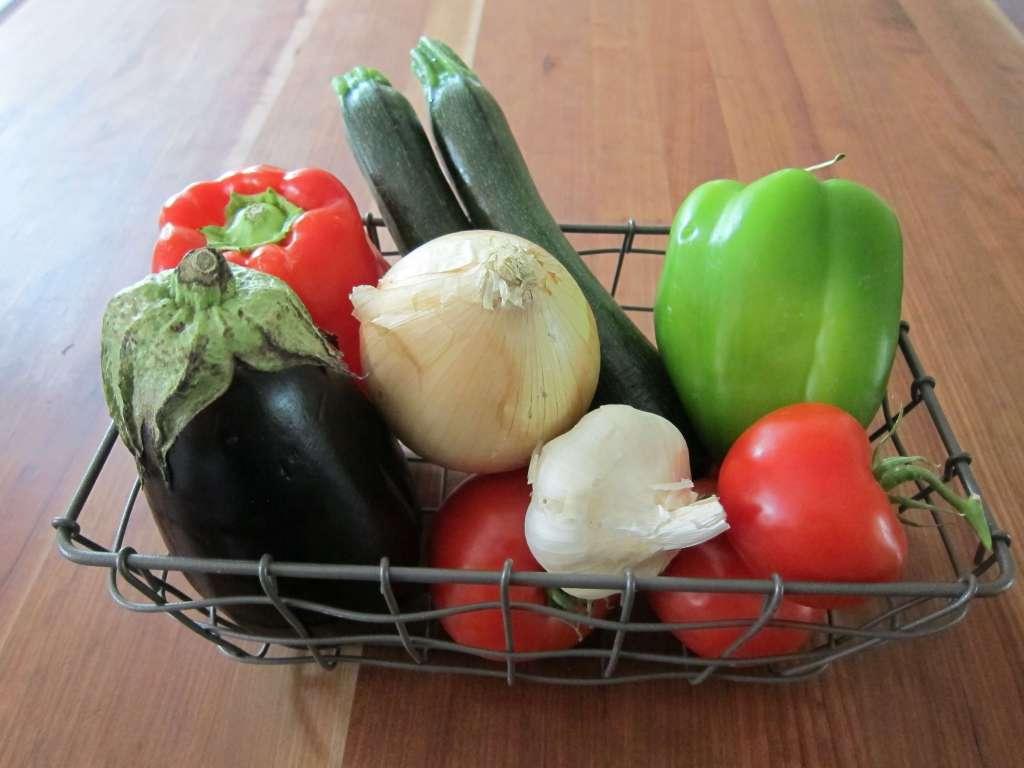 Instant Pot Ratatouille fresh summer vegetables