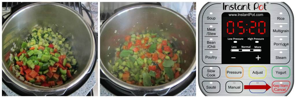 Instant Pot Ratatouille Instructions 3 - Paint the Kitchen Red
