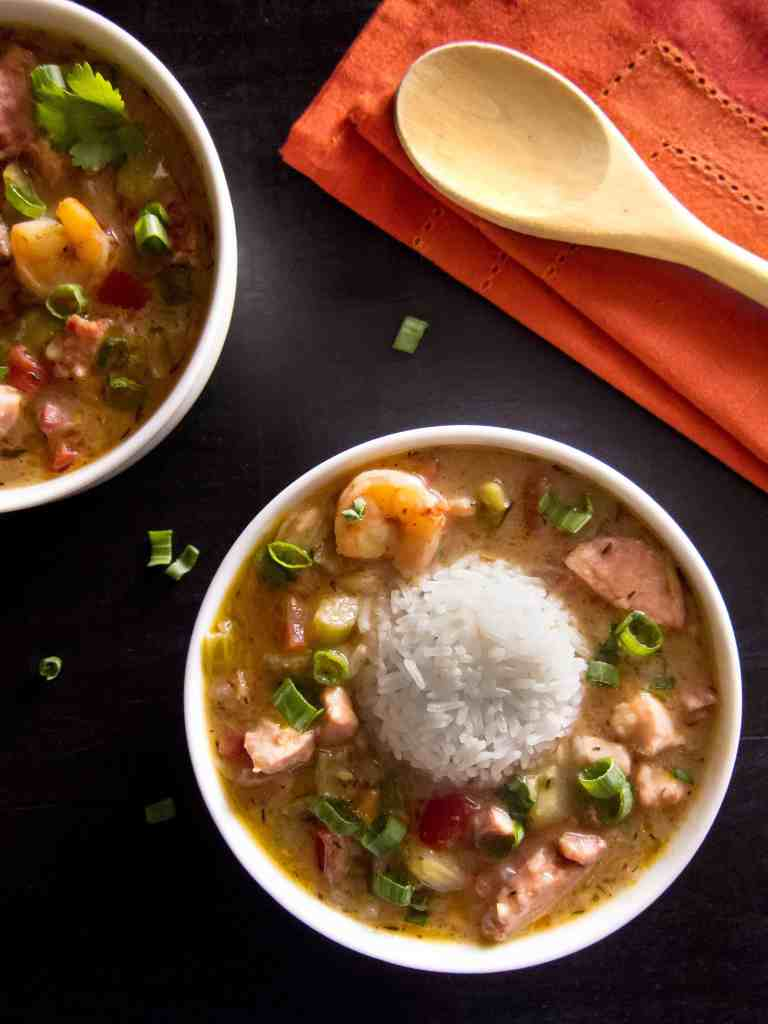 Instant Pot Gumbo P22 - Paint the Kitchen Red