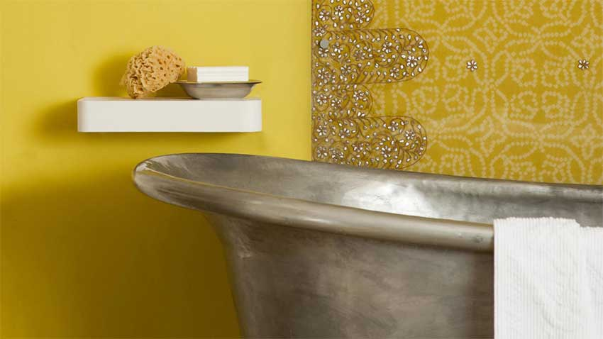 idee couleur peinture salle de bain