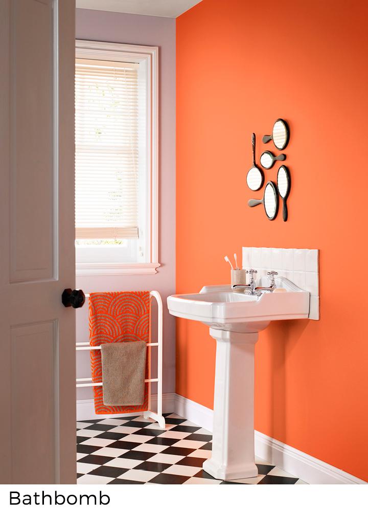 Peinture Murale Couleurs Jaunes Et Oranges Painttrade