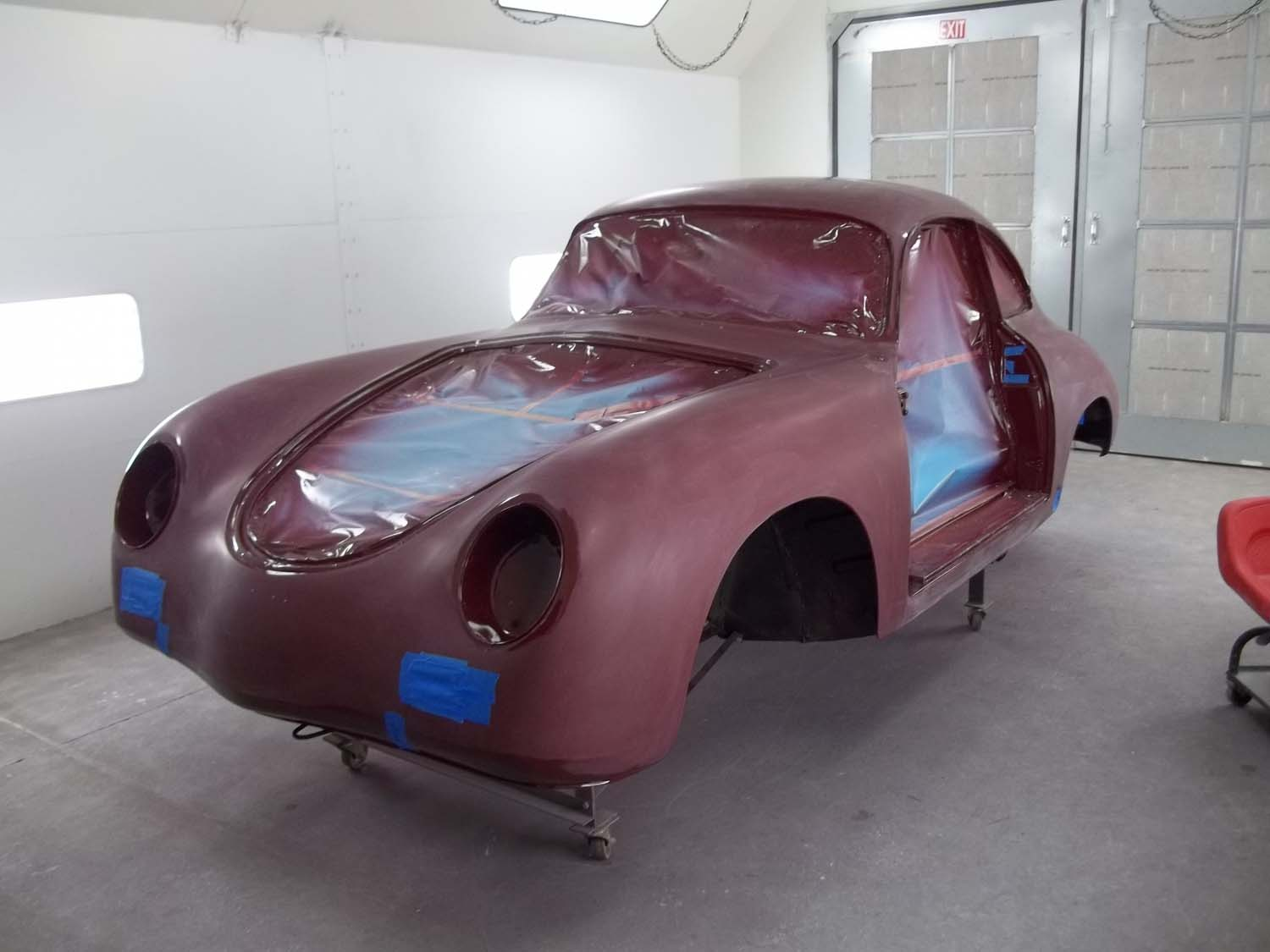 1956 Porsche 356A Coupe | Paintwerks Custom & Restoration Refinishing