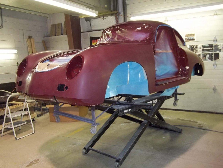 1956 Porsche 356A Coupe   Paintwerks Custom & Restoration Refinishing