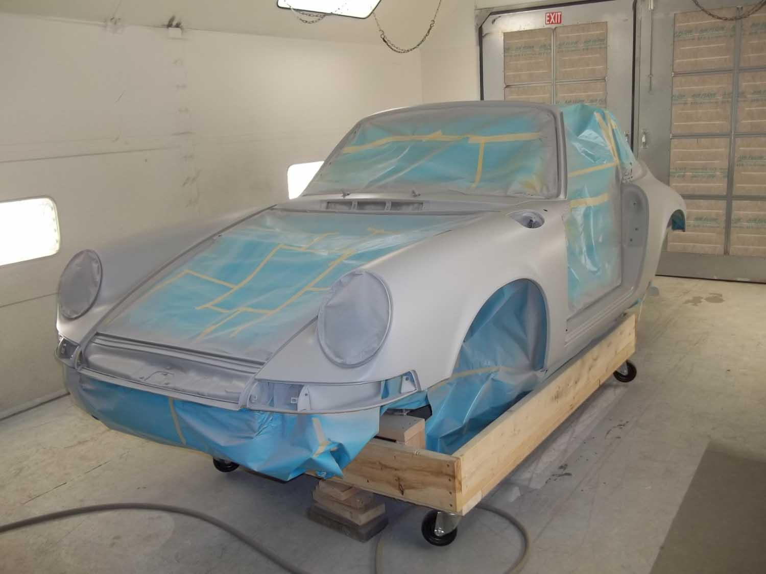 1973 911S Targa | Paintwerks Custom & Restoration Refinishing