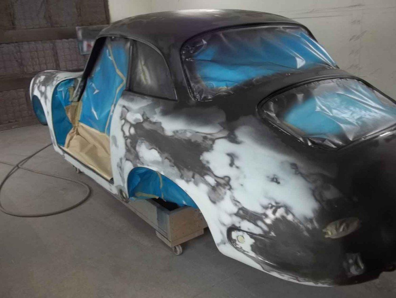 1962 356 Notchback   Paintwerks Custom & Restoration Refinishing