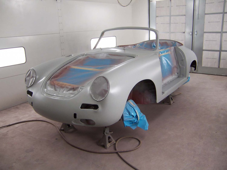 1965 Porsche 356 Cabriolet   Paintwerks Custom & Restoration Refinishing