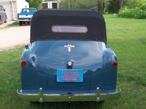 1949 Crosley Convertible   Paintwerks Custom & Restoration Refinishing