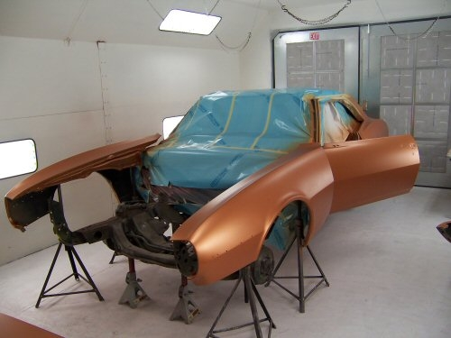 1968 Pontiac Firebird | Paintwerks Custom & Restoration Refinishing