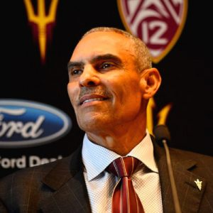 Image of Arizona State University head coach Herm Edwards.