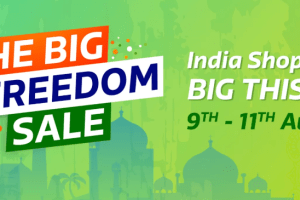 Flipkart Big Freedom Sale and offers