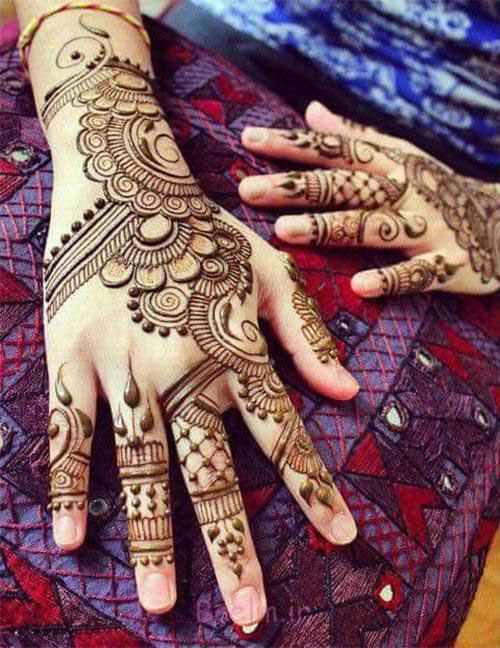 eye-catching mehndi designs