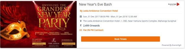 new year parties in delhi ncr